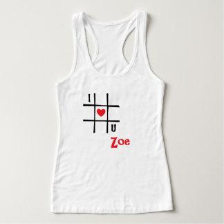 #私はUソエの女性のHanesのNano Tシャツをlove タンクトップ