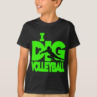私はVB、ネオンの緑を掘ります Tシャツ
