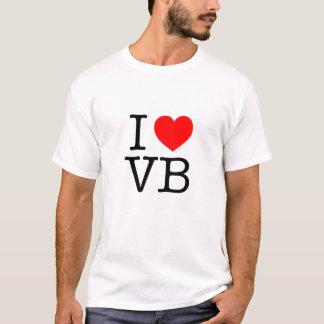 私はVB Virginia Beachを愛します Tシャツ
