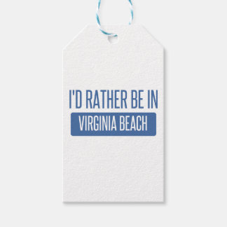 私はVirginia Beachにむしろいます ギフトタグ