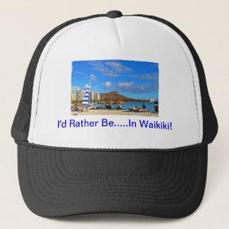 私はWaikikiにむしろいます! キャップ