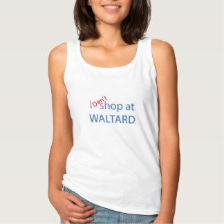 私はWaltardで買物をしません タンクトップ