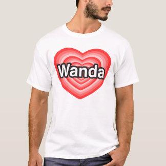 私はWandaを愛します。 私はWanda愛します。 ハート Tシャツ