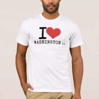 私はWashington D.C.を愛します Tシャツ