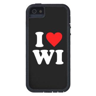 私はWIを愛します iPhone SE/5/5s ケース