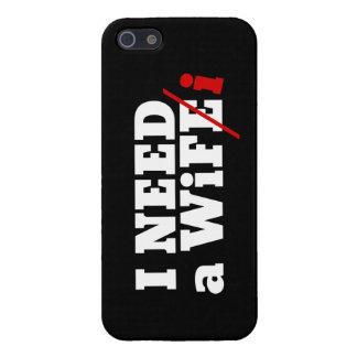 私はwifiを必要とします iPhone SE/5/5sケース