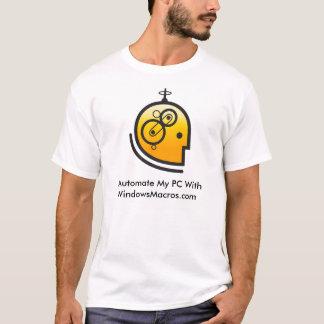 私はWindowsMacros.comの私のPCを自動化します Tシャツ