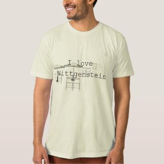 私はWittgensteinを愛します Tシャツ