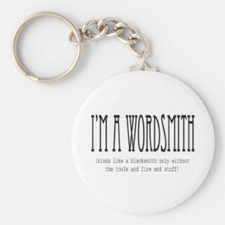 私はwordsmithはです(ちょっと鍛治屋のように…) キーホルダー