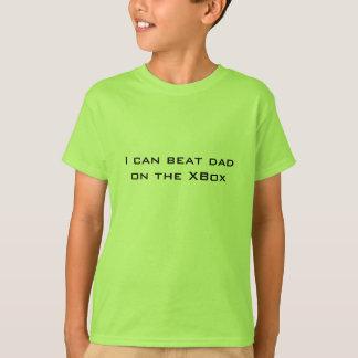私はXBoxのパパを打ってもいいです。 おもしろいな子供 Tシャツ