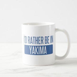 私はYakimaにむしろいます コーヒーマグカップ