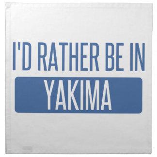 私はYakimaにむしろいます ナプキンクロス