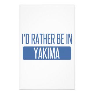 私はYakimaにむしろいます 便箋