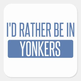 私はYonkersにむしろいます スクエアシール