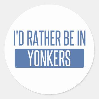 私はYonkersにむしろいます ラウンドシール