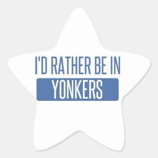 私はYonkersにむしろいます 星シール
