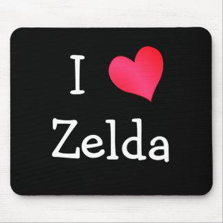 私はZeldaを愛します マウスパッド