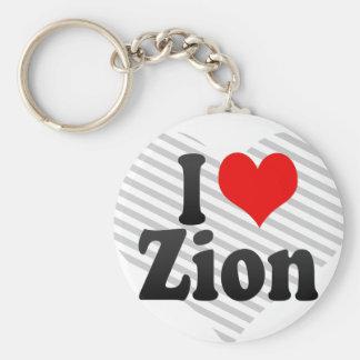 私はZionを愛します キーホルダー