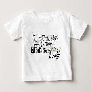 私へのあらゆる事 ベビーTシャツ