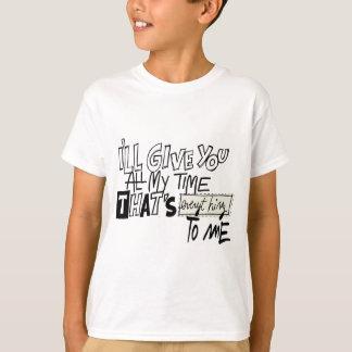 私へのあらゆる事 Tシャツ