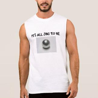 私へのすべての亜鉛 袖なしシャツ