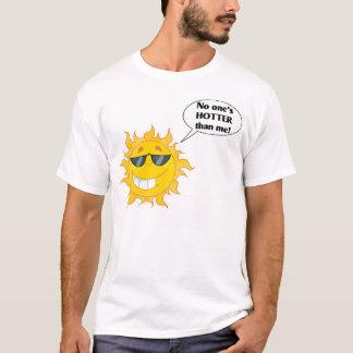 私より誰も熱い! Tシャツ