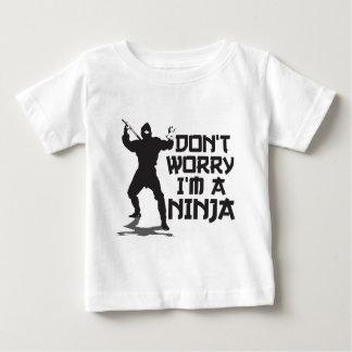 私をあります忍者が心配しないで下さい ベビーTシャツ