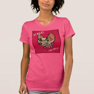 私をありますPMSingが用心して下さい Tシャツ