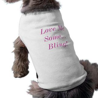 私をいくつか…きらきら光るな犬のワイシャツ愛して下さい ペット服