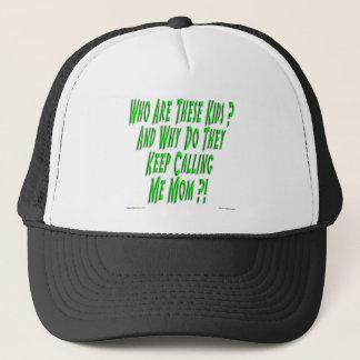 私をお母さんの帽子と電話するそれらがなぜあるか キャップ