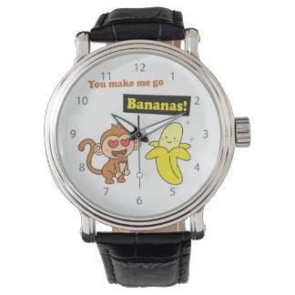 私をかわいい愛ユーモア興奮させます 腕時計