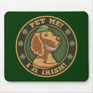 私をかわいがって下さい! 私はアイルランド語です マウスパッド