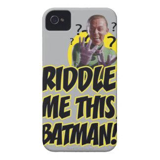 私をこのバットマン吟味して下さい Case-Mate iPhone 4 ケース