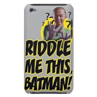 私をこのバットマン吟味して下さい Case-Mate iPod TOUCH ケース