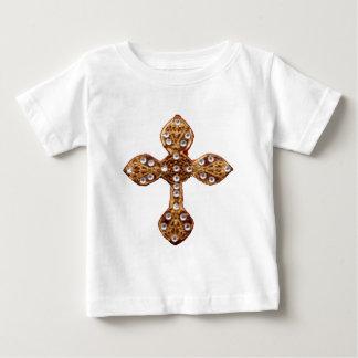 私をすべての円形の明るいカラフル子供が-あることを再度許可して下さい ベビーTシャツ