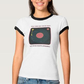 私をの回します従って悪い状態は、私の頭部回転を保ちます Tシャツ