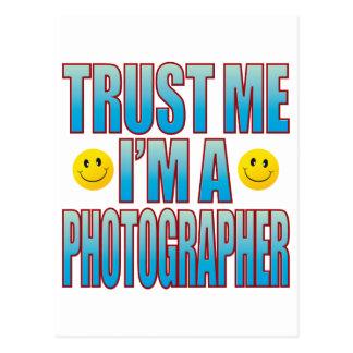 私をカメラマンの生命B信頼して下さい ポストカード