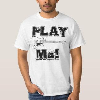 私をギターのTシャツ演じて下さい Tシャツ