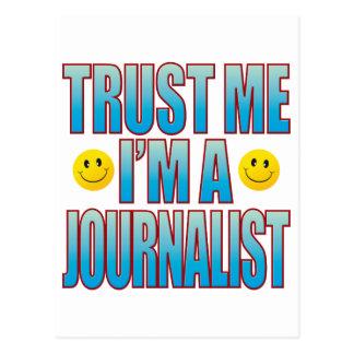 私をジャーナリストの生命B信頼して下さい ポストカード