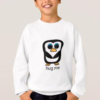 私をペンギン抱き締めて下さい スウェットシャツ