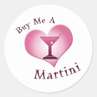 私をマルティーニ買って下さい ラウンドシール