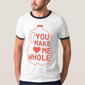 私を全にします Tシャツ