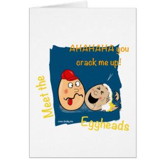 私を割ります! おもしろいな知識人の漫画 カード