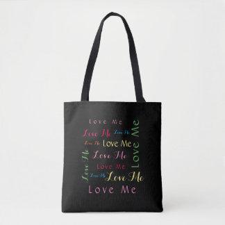 私を単語の芸術愛して下さい トートバッグ