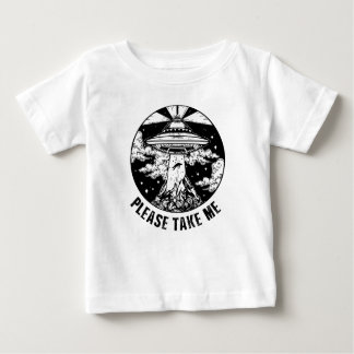 私を取って下さい ベビーTシャツ