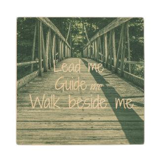 私を導きます私を私の側の歩行引用文導いて下さい ウッドコースター