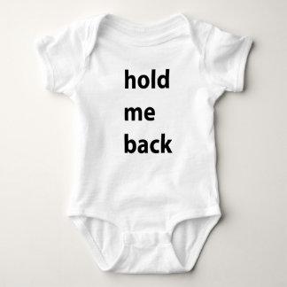 私を幼児クリーパー制止して下さい ベビーボディスーツ