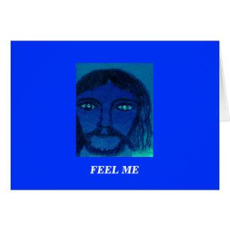私を感じて下さい: イエス・キリスト カード