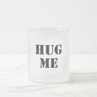 私を抱き締めて下さい フロストグラスマグカップ