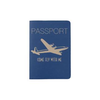 """""""私を持つ来られたはえ"""" パスポートカバー"""